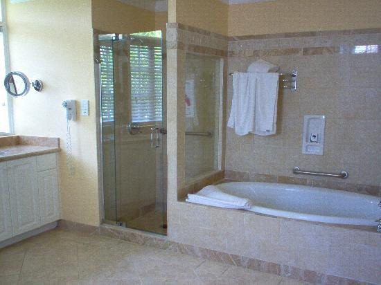 Tub and shower stall picture of half moon montego bay for Bathroom ideas in jamaica