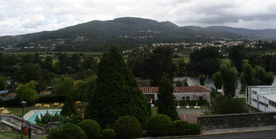 Parador de Tui: View from our hotel window