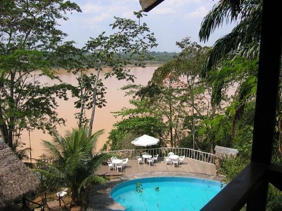 Wasai Maldonado Eco Lodge: View from my room