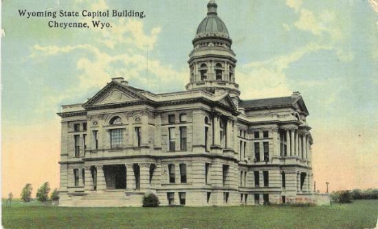 Cheyenne, WY: Capitol Bldg.