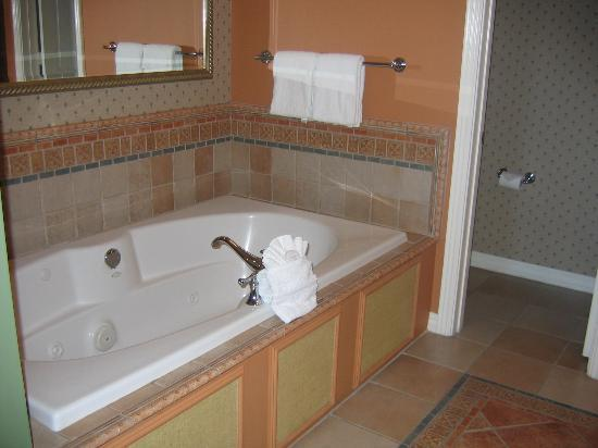 Hyatt Windward Pointe: Partial view of bathroom
