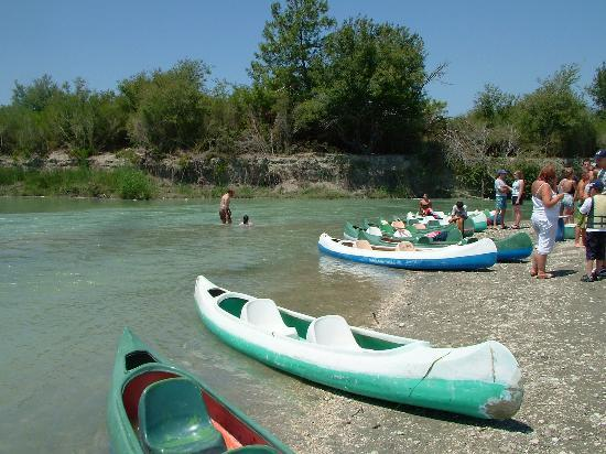 Villa Lycian City: Canoeing had its difficulties!