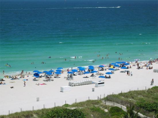 Hilton Bentley Miami South Beach 906 Balcony View
