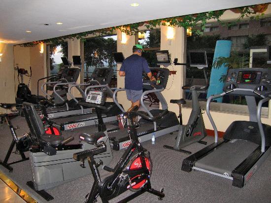 JW Marriott Hotel Mexico City: Exercise room on 7th floor