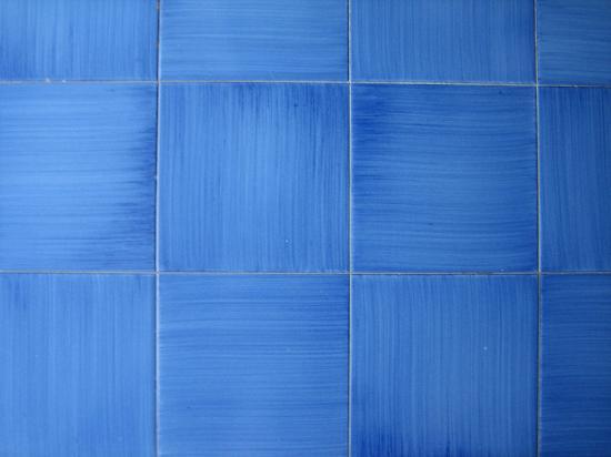 Villa La Tartana: Cobalt Blue Tile