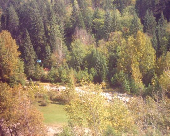 Radium Hot Springs, Kanada: Down In The Canyon Camground