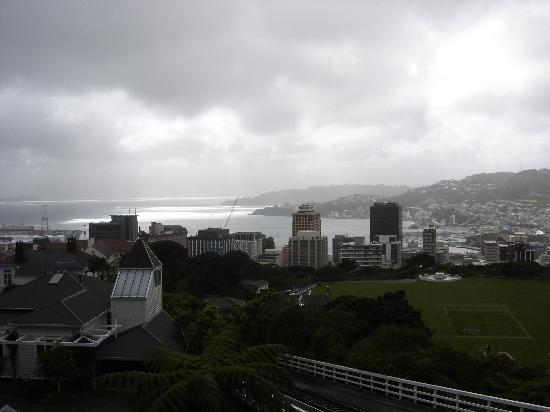 Rawhiti Boutique Bed and Breakfast: Cable car into Wellington
