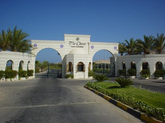 The Oberoi Sahl Hasheesh: Hotel resort entrance