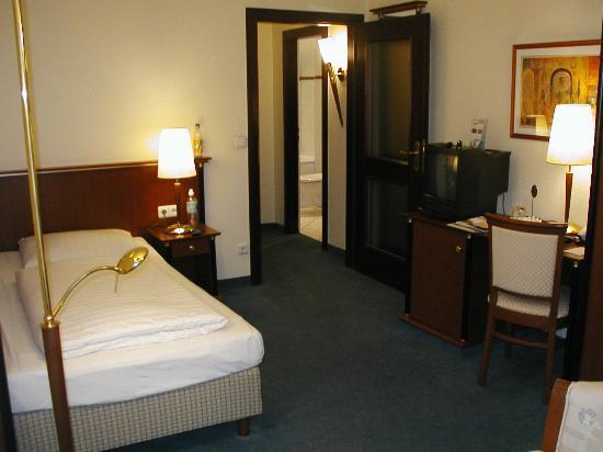 Hotel König Ludwig: single room, view 2
