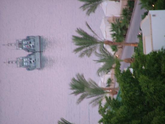 Hyatt Regency Sharm El Sheikh Resort: Our own Gunboats during Condoleezas stay!