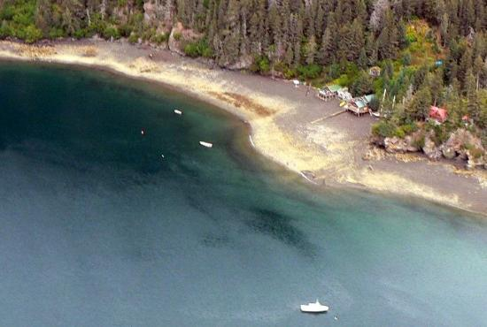 Alaska's Sadie Cove Wilderness Lodge: SCWL from the air