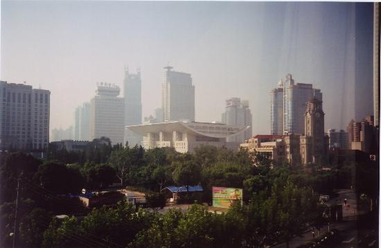 Park Hotel Shanghai: Park Hotel, view of Renmin Square from room 303