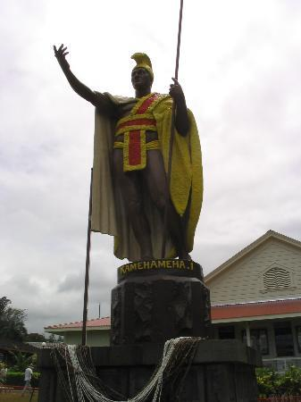 ‪The Original King Kamehameha Statue‬
