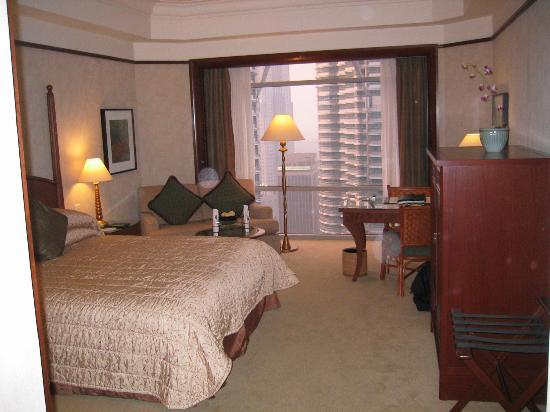 Mandarin Oriental, Kuala Lumpur: Club City Room towards window