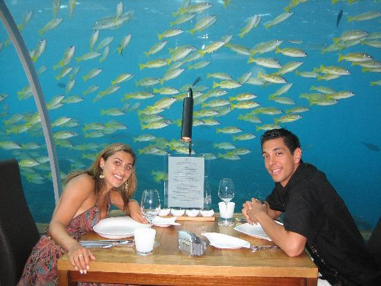 Underwater Restaurant Picture Of Conrad Maldives Rangali