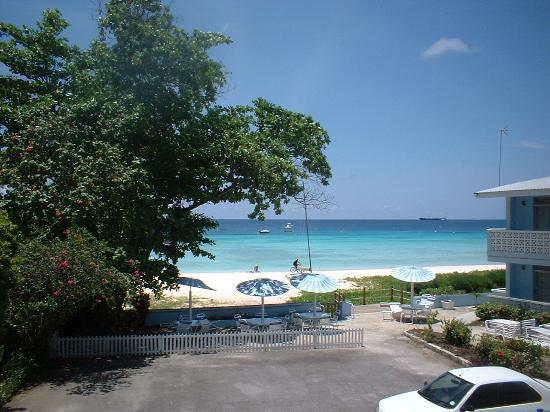 Nautilus Beach Apartments: View from Apartment 24