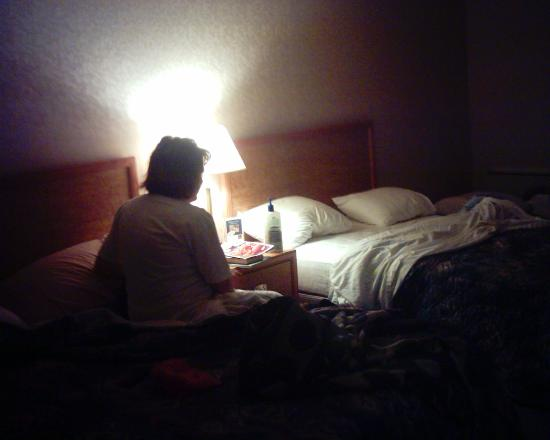 Comfort Inn Regina: Dingy Room