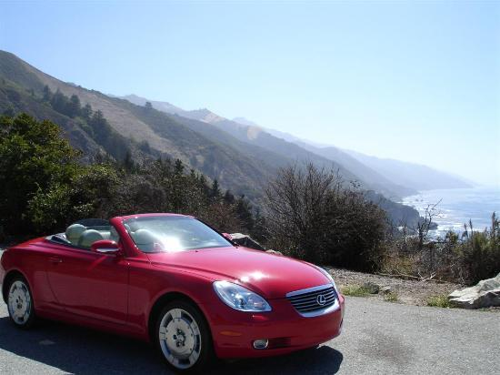 Post Ranch Inn: Drop top Lexus, Highway 1, Sunny Day...umm yeah!