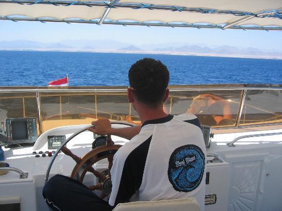 Four Seasons Resort Sharm El Sheikh: Dive boat