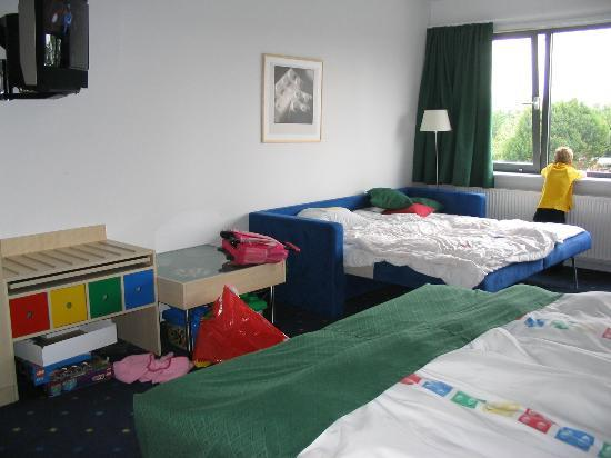 Hotel LEGOLAND: sofabed out