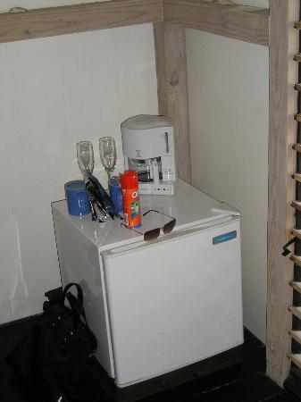 Cocobay Resort: mini fridge (photo taken specificly for this site, i don't have a fridge fetish)