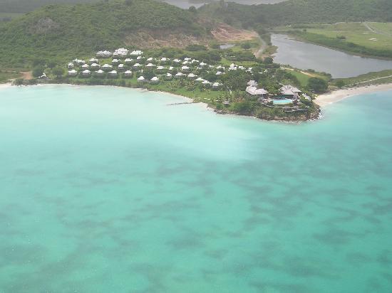 Cocobay Resort : cocobay from the chopper