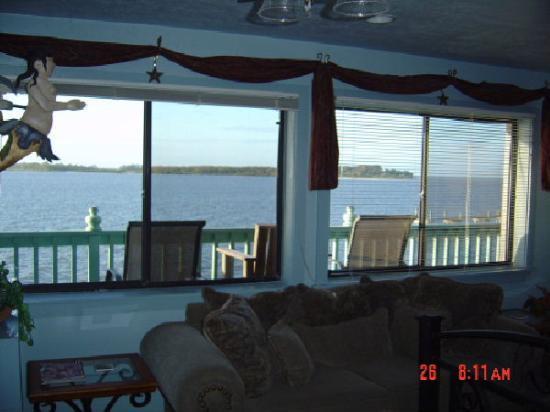 Cedar Key Harbour Master Suites: Our room, Gulliver's Rest