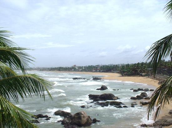 Dehiwala-Mount Lavinia, Sri Lanka: A view from the room
