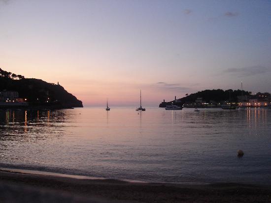 Aimia Hotel: sunset in Port De Soller