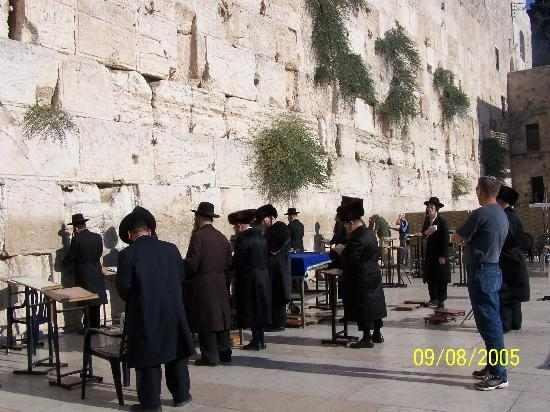 Lev Yerushalayim: the wailing wall