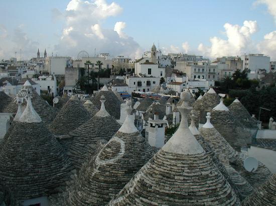 Trullidea: Trulli rooftops
