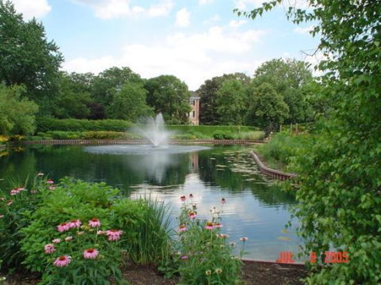 Wheaton, Илинойс: Cantigny Gardens, Chicago Western Suburbs, IL