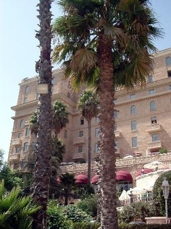 The King David: Hotel from the gardens