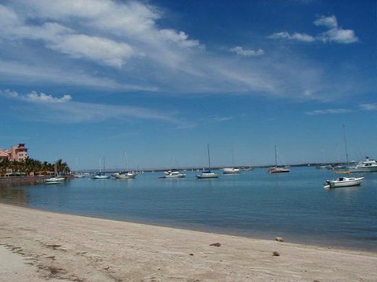 La Paz beach view
