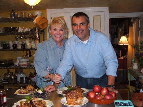The Red Maple Inn: TV Host George Hirsch & RMI Chef Shari Alexander