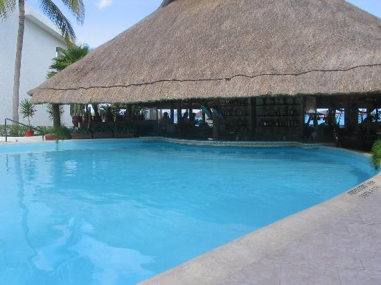 The Royal Cancun All Suites Resort : Swim-up bar