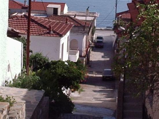 Volos, Grèce : Village street