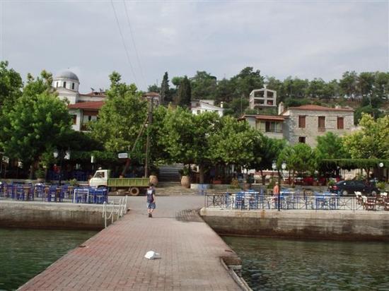 Volos, Grèce : Village Centre
