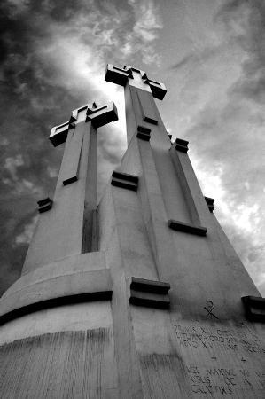 Vilnius, Litauen: Three Crosses
