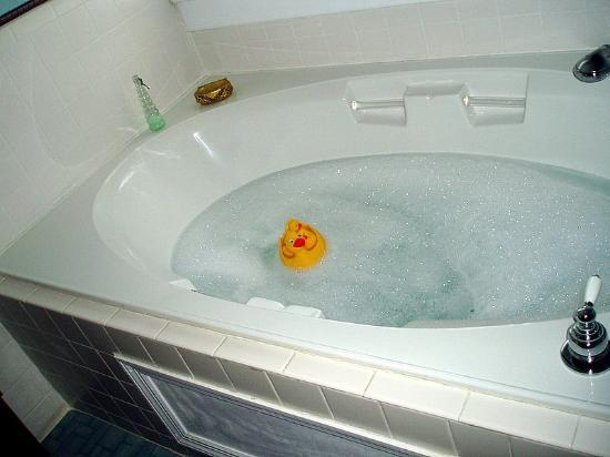 Americus Garden Inn Bed & Breakfast: Join the Duck for A Relaxing Bath