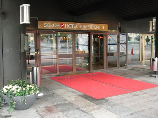 Original Sokos Hotel Presidentti: Entrance