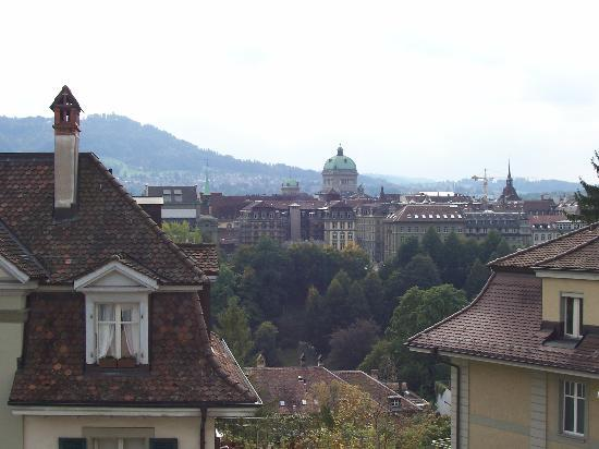 Hotel Allegro Bern: View from balcony