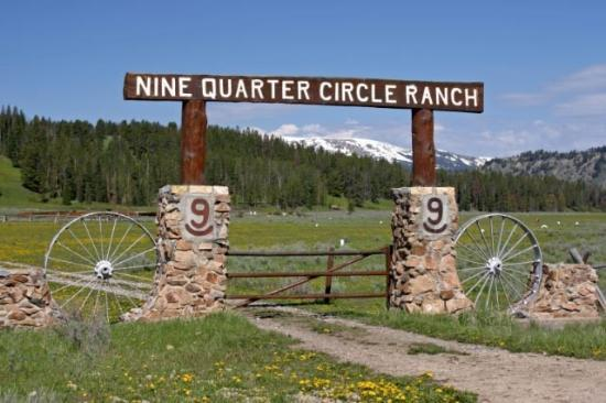 Nine Quarter Circle Ranch: Entering Nine Qtr's gate is like coming home.