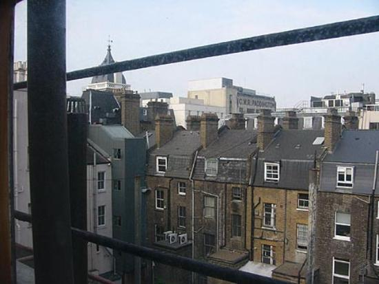 St. David's Hotels : View from room 414, 21st September 2003