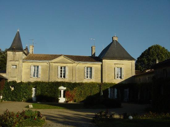 Puisseguin, France: View of chateau