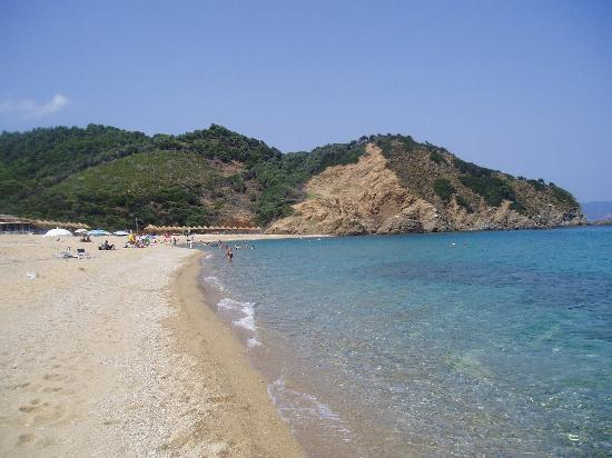 Typical Skiathos Beach