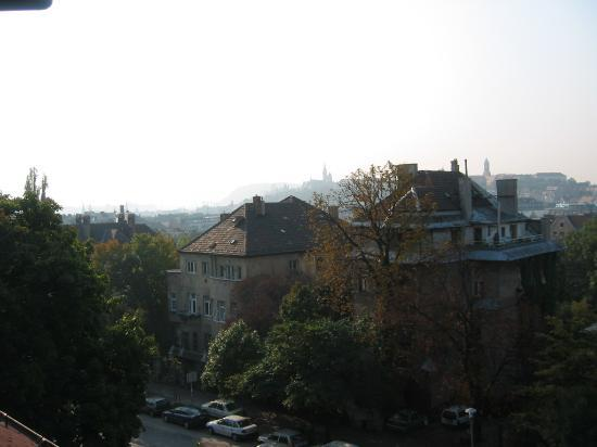 Mohacsi Panzio: A view of Buda from our room