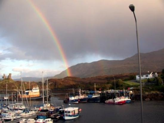 White Heather Hotel: Another look at the rainbow
