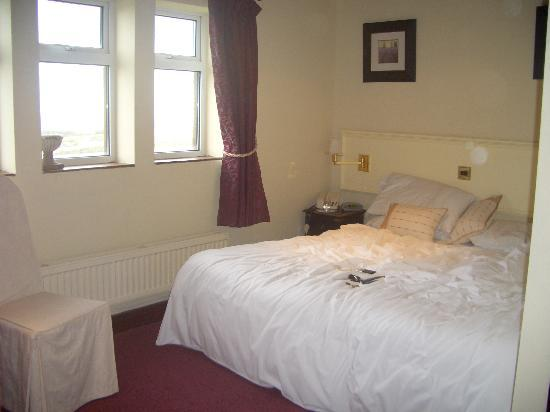 Best Western Pennine Manor Hotel: twin room made up as a double