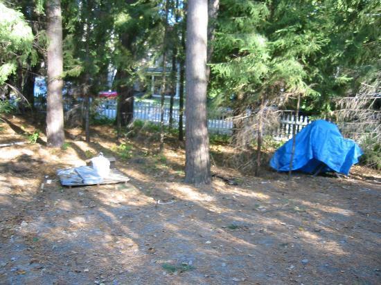 Saranac Inn Golf & Country Club: is this a campground?